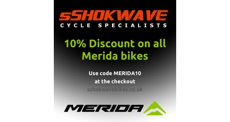 10% Discount on all Merida bikes